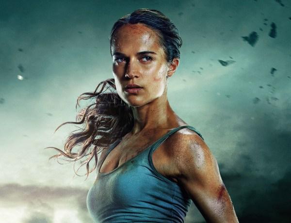 Alicia Vikander : Un Youtubeur la juge trop plate pour jouer Lara Croft , il se fait lyncher !