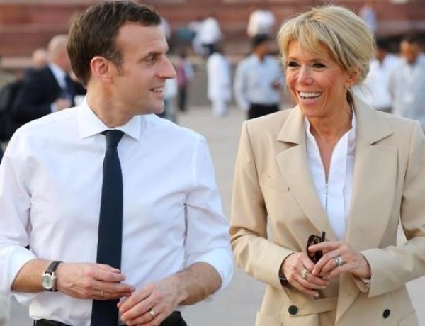 Brigitte et Emmanuel Macron : Leur escapade romantique au Taj Mahal