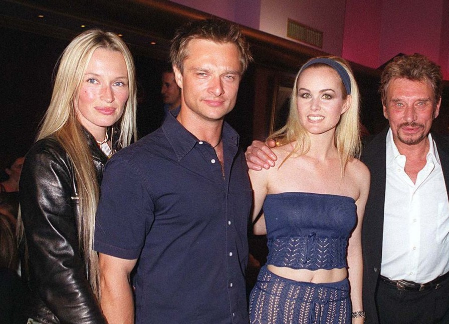 David Hallyday reçoit un tendre message de son ex Estelle Lefébure