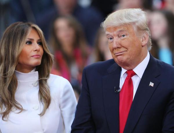 C'est au tour de Donald Trump de mettre un vent à Melania…