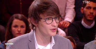 Quotidien : Aurélien Enthoven victime d'attaques antisémites, le fils de Carla Bruni et Raphaël Enthoven réagit