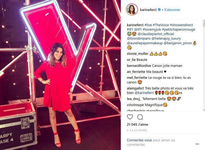 Karine Ferri : Le tendre message de Sandrine Quetier pour la co-animatrice de The Voice