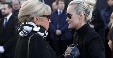 Laeticia Hallyday lâchée par Brigitte Macron ?