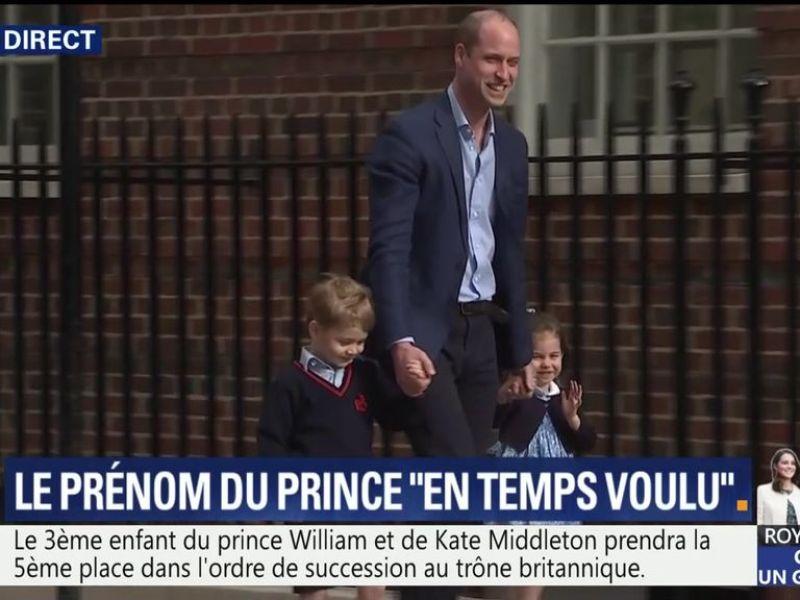 Kate Middleton maman pour la troisième fois : Le prince George et la princesse Charlotte rencontrent leur petit frère
