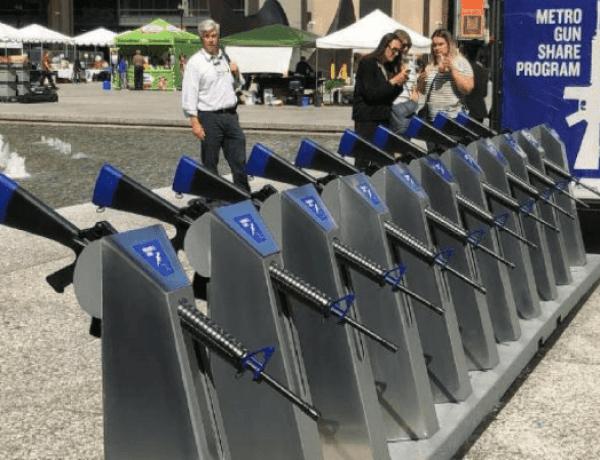 Etats-Unis  : Un distributeur de fusils en accès libre mis en place à Chicago…