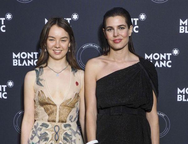 Cannes 2018 : Charlotte Casiraghi illumine la Croisette au côté de sa soeur Alexandra de Hanovre