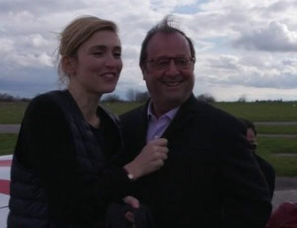 François Hollande et Julie Gayet surpris en train de s'échanger un câlin : Ils ne se cachent plus