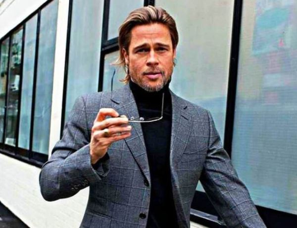 En plein divorce, Brad Pitt se porte plutôt bien !