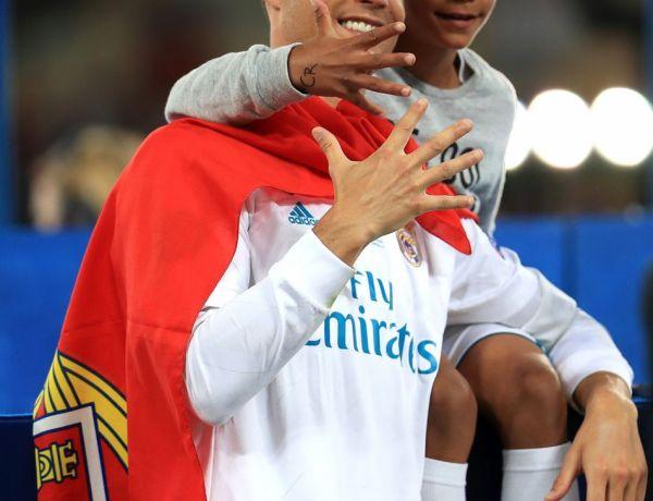 Le fils de Cristiano Ronaldo est là pour prendre la relève !