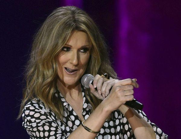 """<font color=""""#be075e"""" >Céline Dion au top de sa forme </font>: La chanteuse affiche ses gambettes de rêve!"""