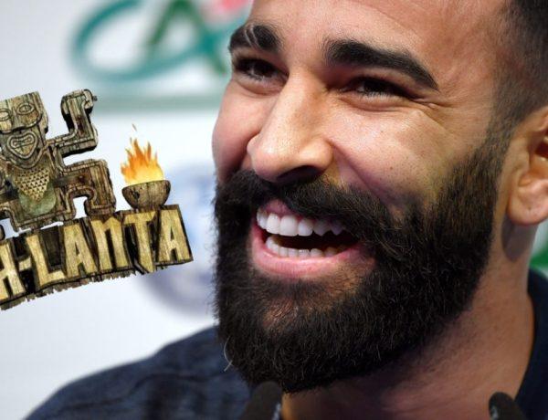 Coupe du monde 2018 : Quand Denis Brogniart donne le collier d'immunité de Koh-Lanta à Adil Rami !