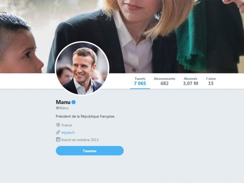 Remplacez Emmanuel Macron par Manu dans votre navigateur !