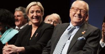 Marine et Jean-Marie Le Pen enterrent la hache de guerre pour la fête des pères