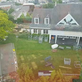Secret Story Les images de la démolition de la maison fuitent sur Instagram