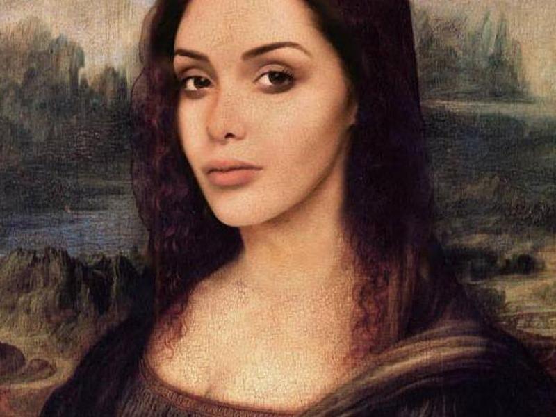 Un artiste transforme Nabilla en Joconde