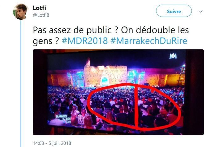 Le Marrakech du rire : Accusée d'avoir ajouté du public au montage, la production s'explique !