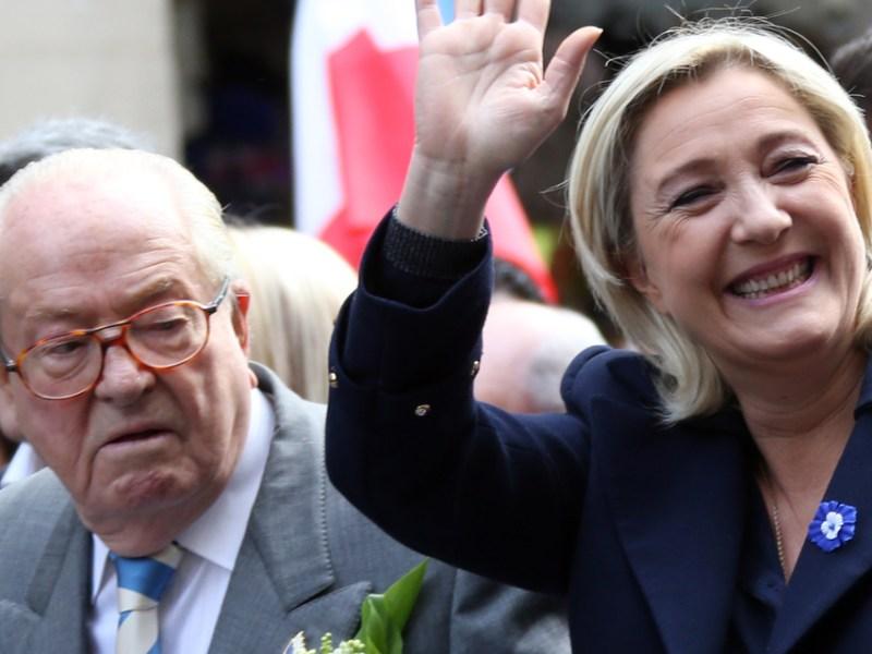 Marine Le Pen: retrouvailles et réconciliations avec son père Jean-Marie Le Pen !