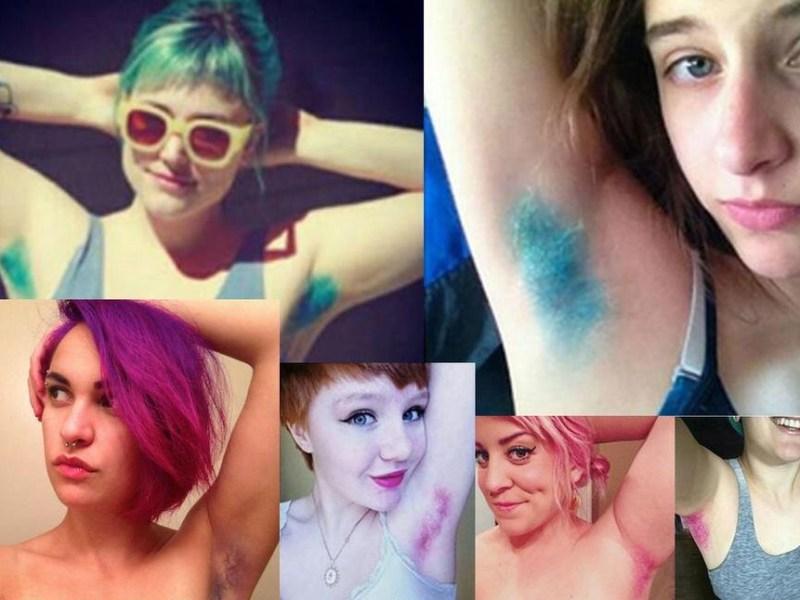 Nouvelle tendance beauté WTF : Se teindre les poils des aisselles