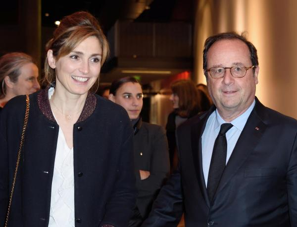 "Julie Gayet fan de l'humour de François Hollande : ""Il me fait beaucoup rire"""