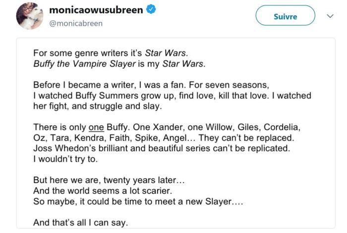 Buffy contre les Vampires : Alyson Hannigan (Willow) dit ce qu'elle pense du reboot !