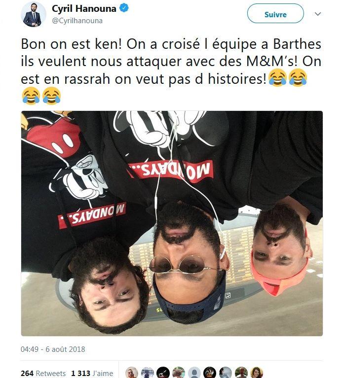 Cyril Hanouna : Sa blague sur Yann Barthès et la bagarre entre Booba et Kaaris !