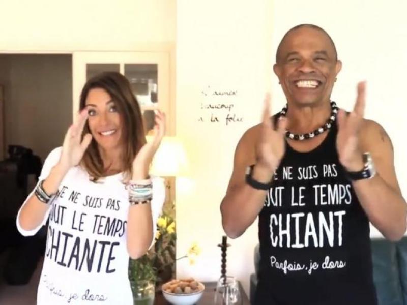 Francky Vincent : Tout nu sur la pochette de son futur album avec Eve Angeli