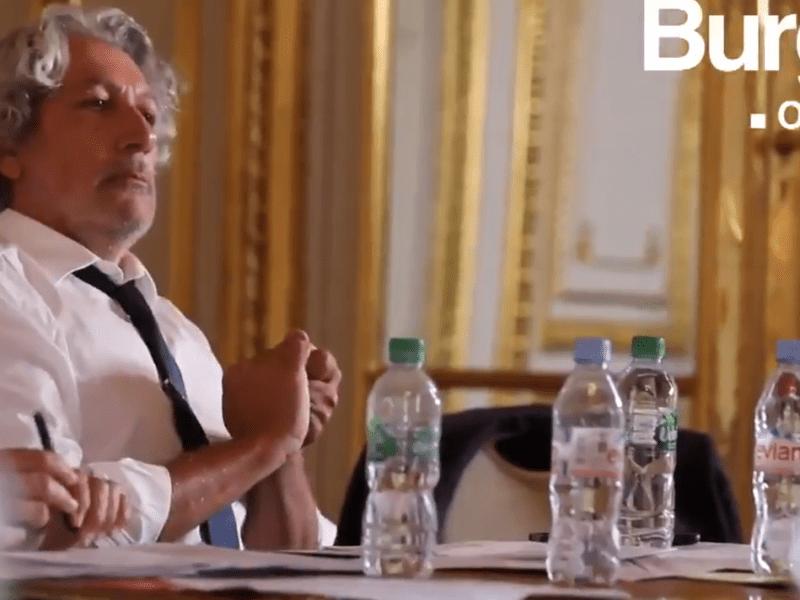 Quand Alain Chabat parodie Emmanuel Macron !