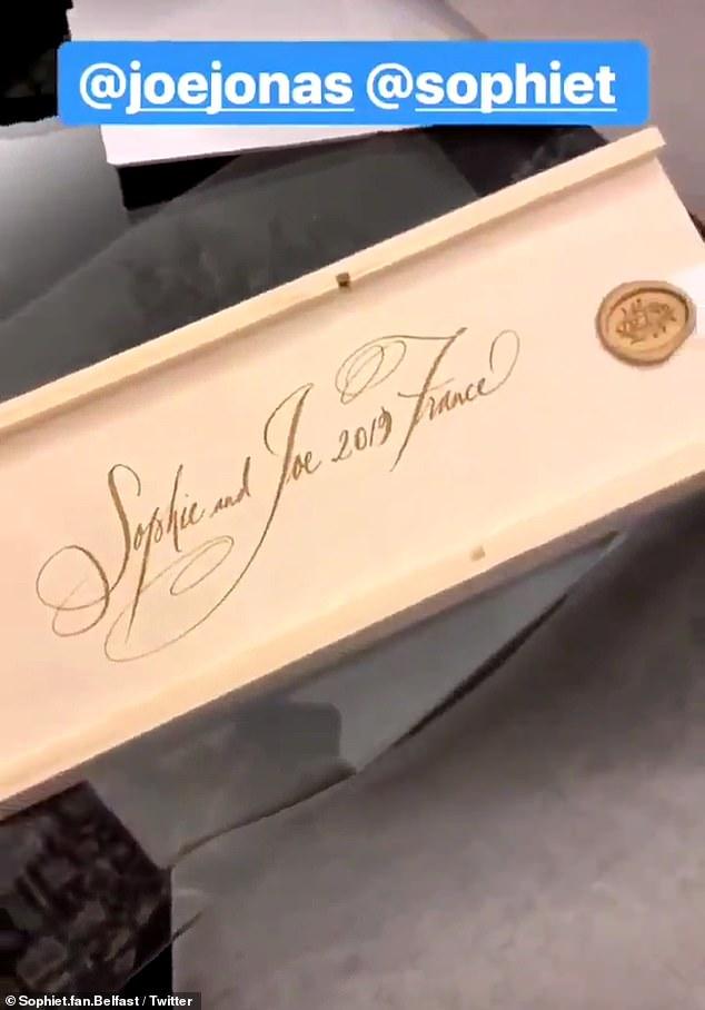 Maintenant, on a hâte d\u0027en savoir plus sur le mariage de Sophie Turner et  Joe Jonas.