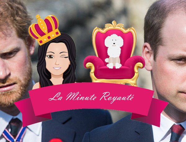La minute royauté – Le prince Harry et le prince William : Ces images qui font jaser