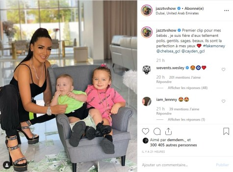 jazz jlc family la photo avec ses enfants qui ne passe. Black Bedroom Furniture Sets. Home Design Ideas