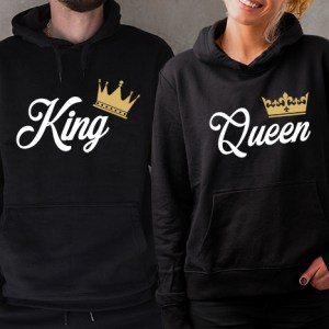Mikiny pre páry – King & Queen I