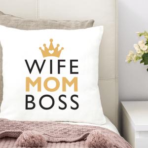 Vankúš – Wife Mom Boss