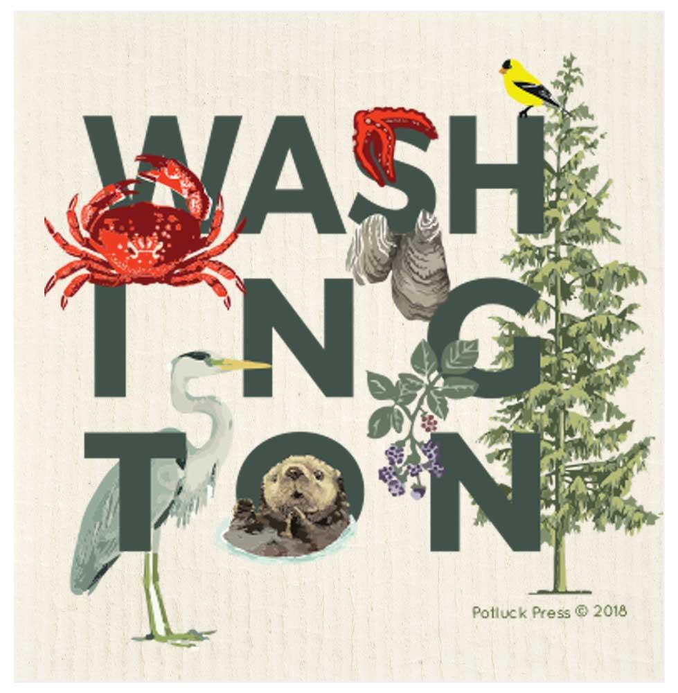 Washington Peek A Boo Potluck Press