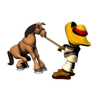 lead horse