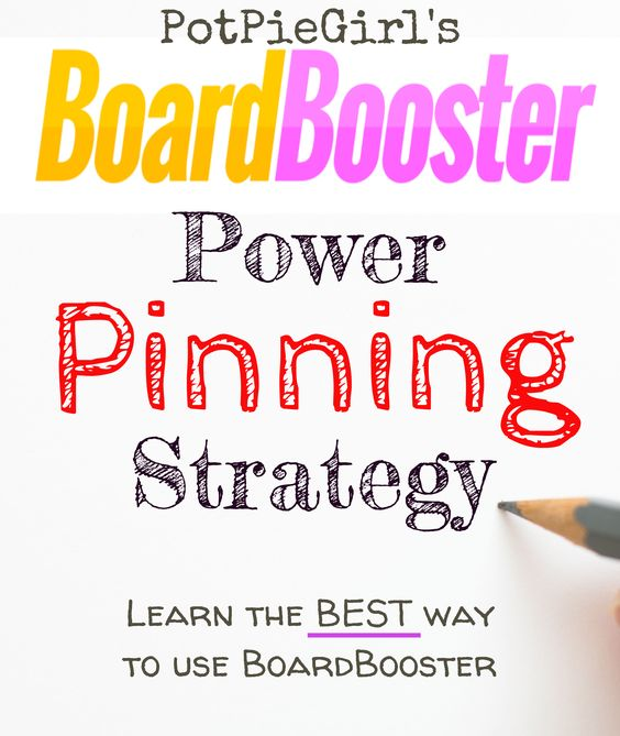 Learn exactly how To use BoardBooster for more Pinterest traffic. PotPieGirl's BoardBooster Power Pinning Strategy WORKS and it's so easy to do. Try it - you'll LOVE it!