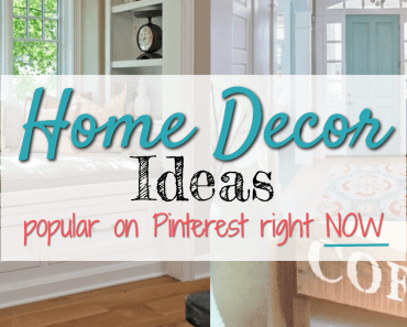 Trending and viral home decor pins on Pinterest right NOW - blog post ideas from @potpiegirl and tips to make YOUR pins go viral