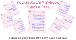 7 AMAZING Strategy Guides from PotPieGirl from such a low price you'll think you're stealing! Perfect for affiliate bloggers and / or those making money blogging