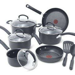Kitchen Cookware Sets Tall Table And Chairs T Fal Ultimate Hard Anodized Review Worth A Buy