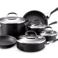 Kitchen Cookware Sets How Much For Remodel Circulon Elite Review A Good Hard Anodized Set