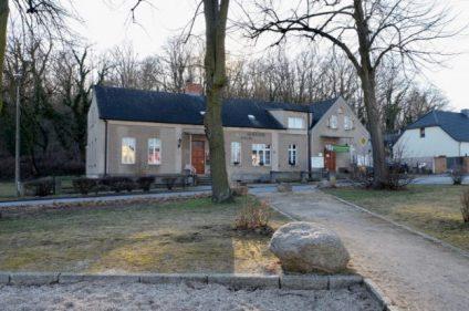 Gemeindehaus Golm Frontansicht