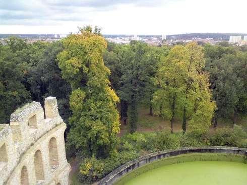 Blick vom Ruinenberg Sanssouci