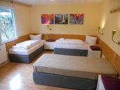 4 Bett Zimmer Damen - Einzelbett - Boxspring