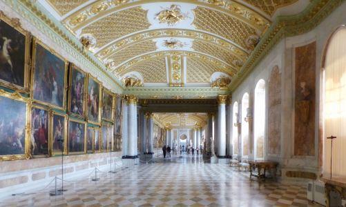 Wandeln in der (Bilder) Galerie des Königs