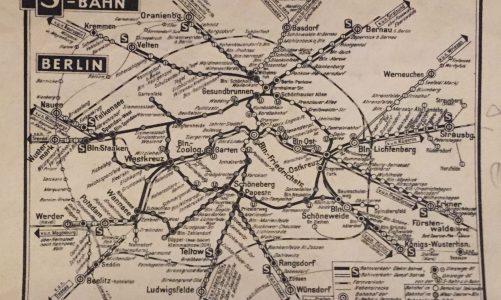 Mit diesem Stadtplan blickt man in Vergangenheit