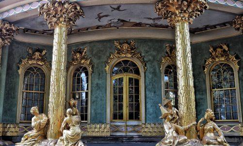 Das Chinesische Haus im Park von Sanssouci