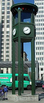 Neue Ampelanlage am Potsdamer Platz