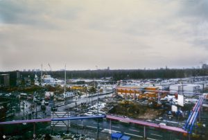 Blick auf den Potsdamer Platz 1994