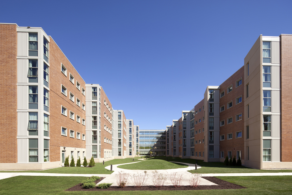 Starin Residence Hall  UW Whitewater  Potter Lawson
