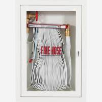 "1.5"" Fire Hose Rack Cabinet - Potter Roemer"
