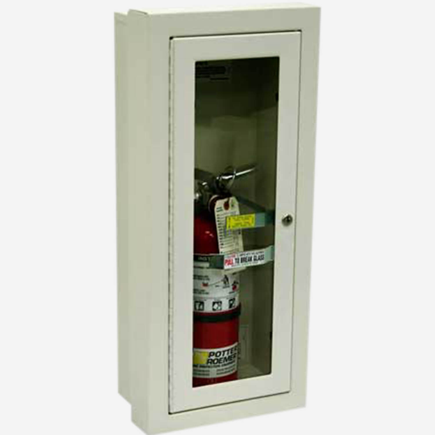 SemiRecessed Alta Fire Extinguisher Cabinets  Potter Roemer